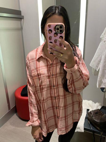 Target plaid shirt   #LTKstyletip #LTKunder50