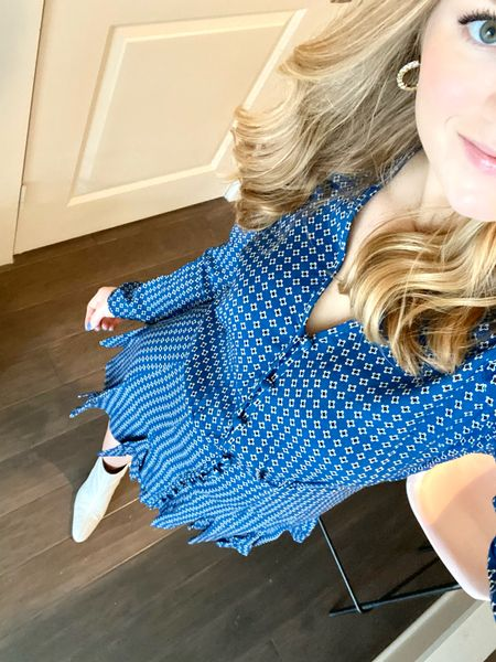 I wanted this #veronicabeard dress forever and it was 1000% worth it!   #LTKsalealert #LTKworkwear