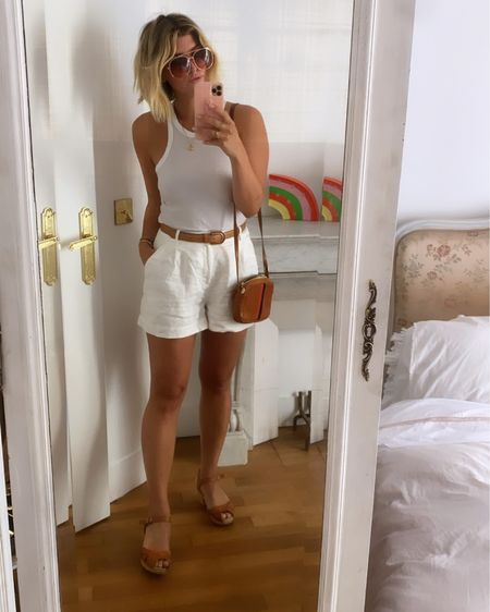White and tan for summer #liketkit @liketoknow.it http://liketk.it/3iS7Y