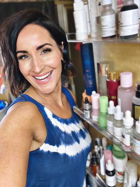 Organizing a small bathroom when you have too many beauty products!   #LTKbeauty #LTKhome
