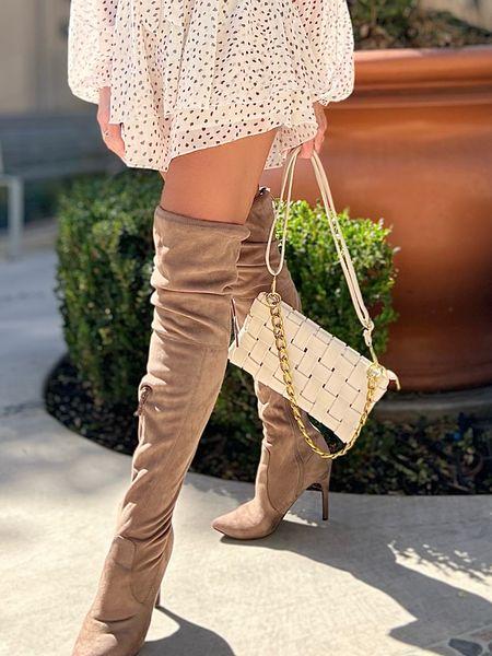 #fall #fall2021 #jumpsuit #shorts #playsuit #neutrals #boots #handbags #purses #trends #trending   #LTKHoliday #LTKGiftGuide #LTKSeasonal