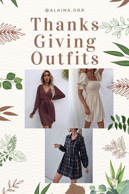 Thanksgiving outfit ideas! #thanksgiving #fallfashion