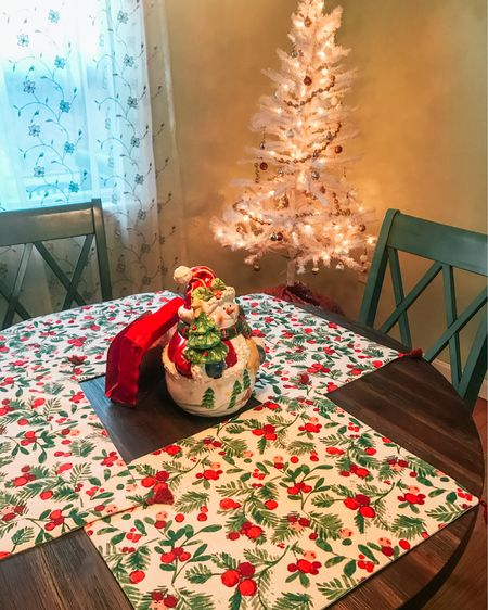 Christmas tablescape! $5 bucks a pop  http://liketk.it/32Bu8 #liketkit @liketoknow.it   #LTKhome #StayHomeWithLTK #LTKunder50