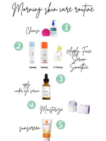Morning skincare routine!   http://liketk.it/35kBM #liketkit @liketoknow.it #LTKbeauty #LTKunder50