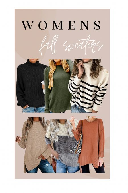 Women's fall sweaters. Amazon fashion