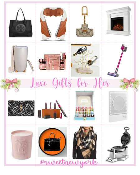 Gift guide for women luxury gifts worth the splurge http://liketk.it/31IF2 #liketkit @liketoknow.it #LTKgiftspo #LTKfamily #LTKstyletip