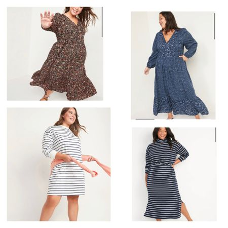 Perfect fall dresses on sale for 50% off!
