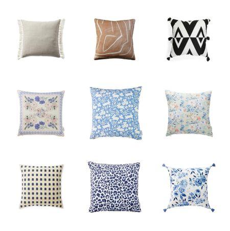 Latest round up of throw pillow favorites   #LTKstyletip #LTKunder100 #LTKhome