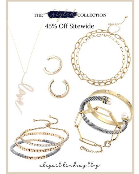 One of my favorite jewelry lines! The Styled Collection has the prettiest, designer-inspired jewelry! Such great quality! I can't recommend their pieces enough! They also have Barefoot Dreams and Hermès inspired blankets! http://liketk.it/3ctGk @liketoknow.it #liketkit #LTKSpringSale #LTKsalealert #LTKstyletip Shop your screenshot of this pic with the LIKEtoKNOW.it shopping app