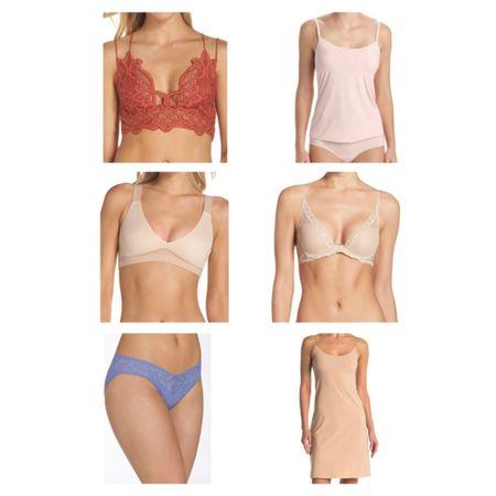 #nsale intimates  Nordstrom anniversary sale, Nordstrom sale, sale finds, bras, underwear, thongs, cami, slip.  #LTKsalealert