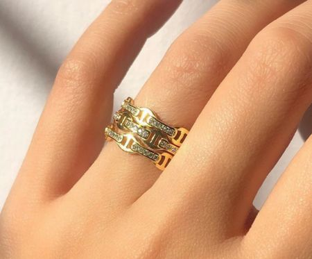 Ahhh love love love this designer inspired ring! So fabulous and it's under $40!!!!  #LTKGiftGuide #LTKunder50 #LTKstyletip