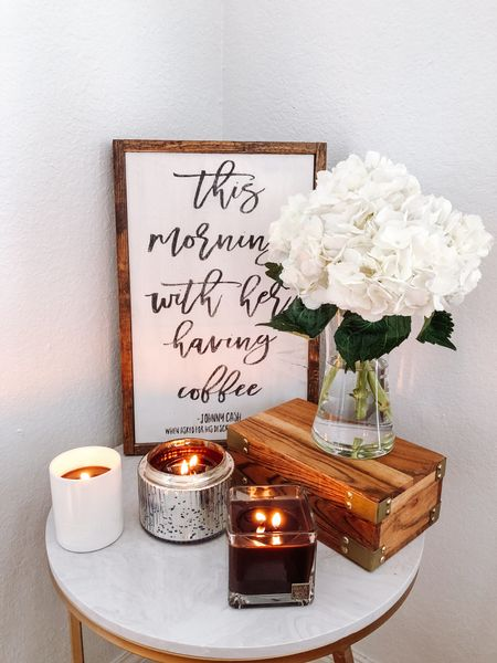 """Aromatique's new """"The Smell of Espresso"""" candle just dropped and it's so good! (Meagan20 for 20% off too!) 👏🏼☕️🙌🏼  #LTKHoliday #LTKSale #LTKhome"""