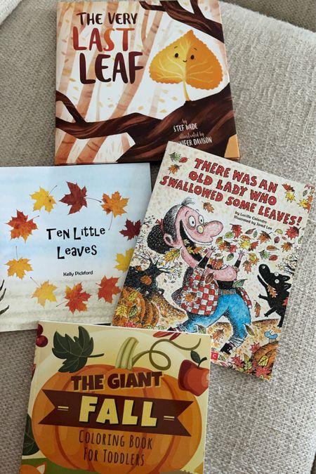 Kids Fall Books