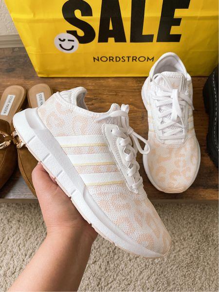 Adidas Swift Run | runs half a size small | Nordstrom anniversary sale   #LTKshoecrush #LTKsalealert #LTKstyletip