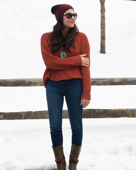 Sporting my new @mierethelabel sweater in today's blog post!   http://liketk.it/38ArF #liketkit @liketoknow.it #LTKstyletip #LTKunder50