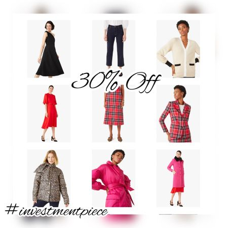From standout winter coats to plaid suits to sweaters and party dresses! Get 30% off @katespade with code HOOTHOOT #investmentpiece   #LTKsalealert #LTKSeasonal #LTKstyletip