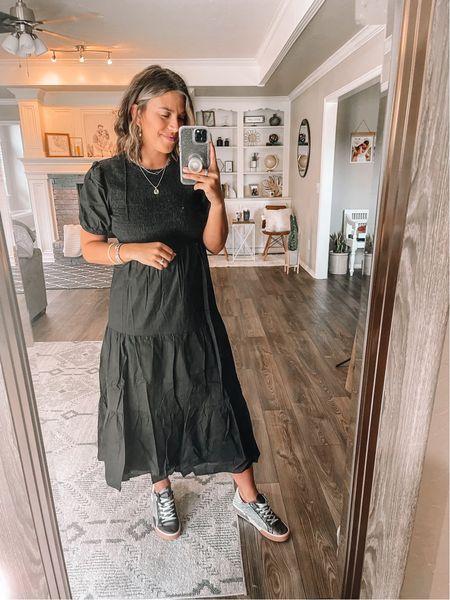 Love this fun dress from Petal & Pup with sneakers. #ltkseasonal #ltkchallenge   #LTKstyletip #LTKunder100 #LTKunder50