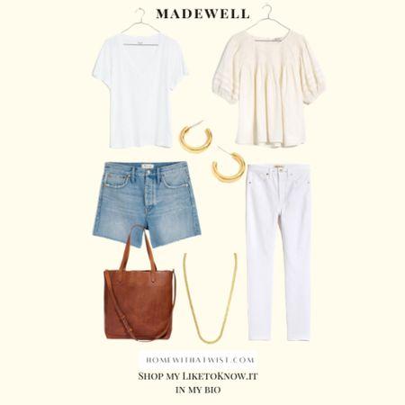 Madewell is on sale this weekend with LTK Day sale! http://liketk.it/3hjxu #liketkit @liketoknow.it #LTKDay #LTKunder100 #LTKitbag
