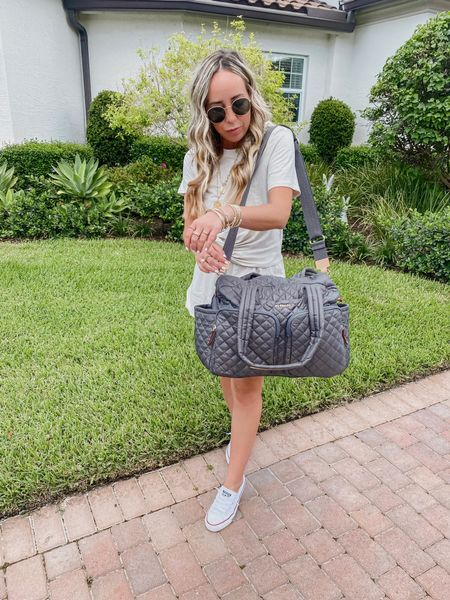 Driving back from a weekend away and still in shock I fit everything in my new MZ Wallace bag! I can't believe how many things I was able to get in this weekender! I am a major overpacker and shocked everyone! Where my other over packers at!? 😉    http://liketk.it/3k1YT @liketoknow.it #liketkit #LTKstyletip #LTKitbag #LTKtravel