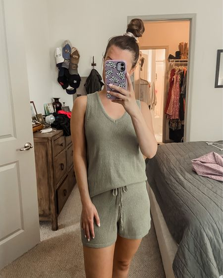 Matching set // summertime // casual outfit // cozy outfit // travel // vacation // amazon finds // under $50 http://liketk.it/3jk18 #liketkit @liketoknow.it #LTKunder50 #LTKtravel #LTKstyletip