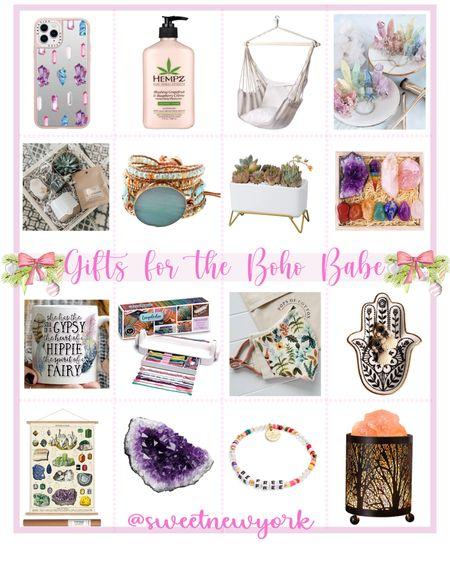 Gift guide for women gifts for the boho babe http://liketk.it/31x2o #liketkit @liketoknow.it #LTKgiftspo #LTKstyletip #LTKhome