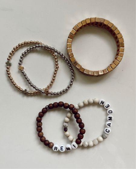 Everyday bracelets.      #LTKstyletip #LTKunder50