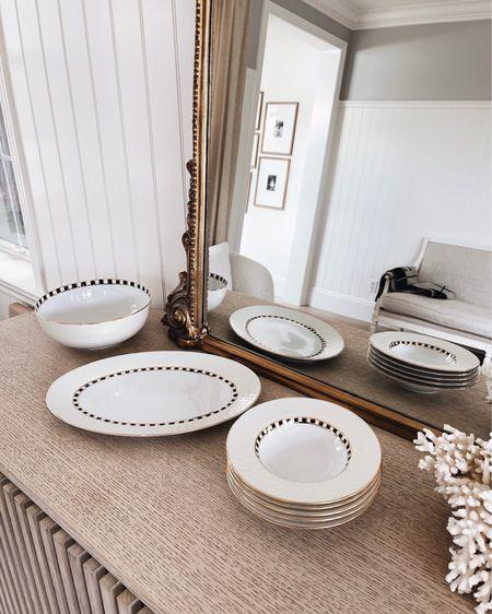 Mackenzie Childs, serving plates, dinner plates, serving bowl, hand finished, porcelain, tabletop finishes, summer hosting, entertaining ideas, stylinaylinhome @liketoknow.it #liketkit    http://liketk.it/3hUw9   #LTKstyletip #LTKhome #LTKfamily