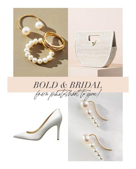 Bringing bold bridal accessories from editorial to you!   #LTKwedding #LTKstyletip #LTKshoecrush