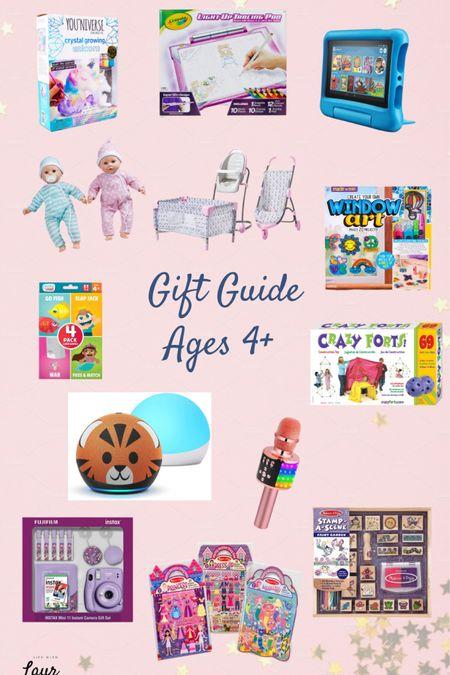Gift Guide for Kids - Ages 4+   http://liketk.it/32f5S #liketkit @liketoknow.it #LTKgiftspo #LTKkids #LTKfamily