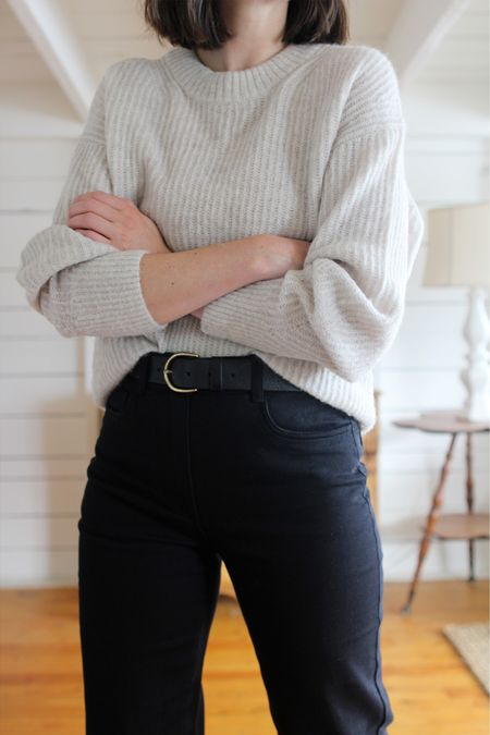 One of my absolute favourite knits is on sale for just $75 USD today!   There's a full review on Style Bee but it's cozy, light, soft as a cloud and barely pills at all. A cold weather closet staple for sure.   Fit is true to size for a relaxed fit. I'm wearing my usual size Small and it's quite roomy.   #LTKSeasonal #LTKsalealert
