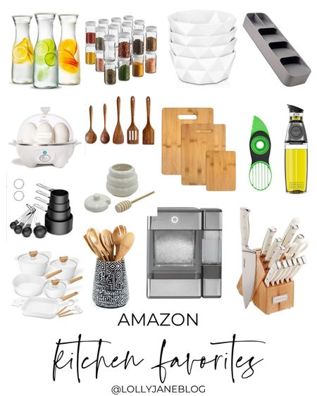 Amazon Kitchen Favorites!!  Lilly Jane Blog | #LollyJaneBlog #LTKunder100 #LTKunder50 #LTKhome @liketoknow.it #liketkit http://liketk.it/3kwyI