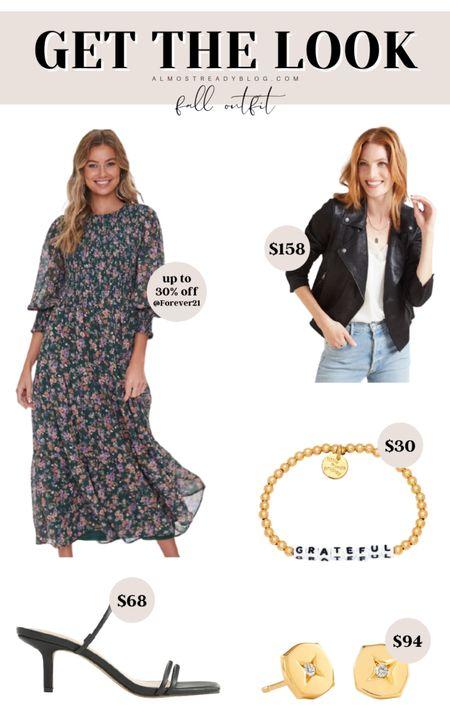 Early fall outfit ideas transitional outfit ideas transitional outfits from summer to fall fall dress fall maxi dress moto jacket fall style fall finds fall jacket http://liketk.it/3nJvK @liketoknow.it #liketkit #LTKunder100 #LTKunder50 #LTKstyletip