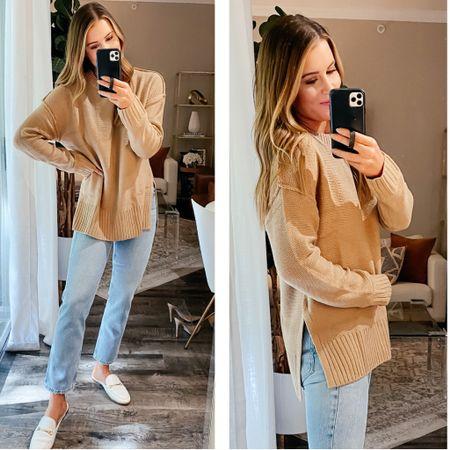 Medium sweater - 27 jeans // amazon fashion, amazon sweater, amazon