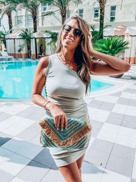 amazon dresses, clutches, and gold details ✨  Resort wear / Amazon finds / summer to fall  #LTKtravel #LTKunder50 #LTKunder100
