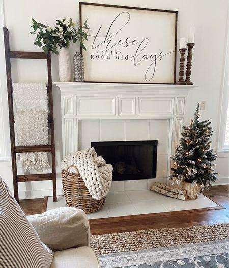 Holiday decor // Christmas // Holiday farmhouse   #LTKunder50 #LTKhome #LTKHoliday