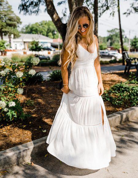 White dress TTS   #LTKswim #LTKtravel