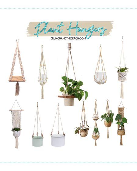7 WAYS TO ELEVATE YOUR OUTDOOR SPACE: Plant Hangers  http://liketk.it/3e6Cn #liketkit   @liketoknow.it #LTKunder50 #LTKunder100 #LTKhome