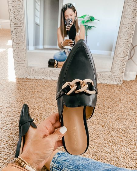⚡️Selling out fast! ⚡️ Chain mules  Only $36.99 Amazon prime free shipping and returns!  Very similar to the Steve Maddens from the Nsale!  $30 less for these!  I'll Share and compare in stories.  Grab quick!  I went a 1/2 size up and got the 7.5. They are a perfect  Fall shoes // fall trends   #LTKshoecrush #LTKsalealert #LTKunder50