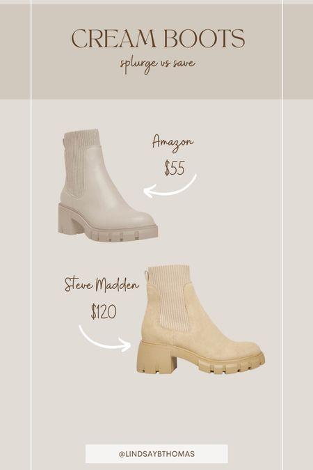 Amazon boots  #LTKsalealert #LTKshoecrush #LTKunder100