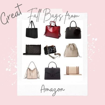 Great Fall 🍁🍂 Bags from Amazon!  I've done the shopping for you and found & tested out some MUST have Bags from Amazon! .   #LTKunder100 #LTKworkwear #LTKstyletip