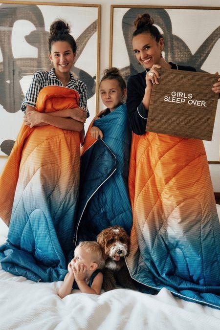 Rumpl machine washable sleeping blankets are the best!!! At Nordstrom!!  #LTKkids #LTKfamily #LTKSeasonal