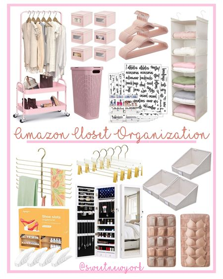 Amazon finds! Organize your closet with these affordable pieces to keep everything neat and tidy! http://liketk.it/3ec3V @liketoknow.it #liketkit #LTKhome #LTKfamily #LTKstyletip
