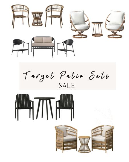 Target patio set sale. #StayHomeWithLTK #LTKstyletip @liketoknow.it.home Shop your screenshot of this pic with the LIKEtoKNOW.it shopping app http://liketk.it/3aJlm #liketkit @liketoknow.it
