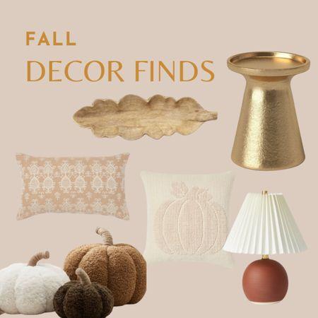 Boho fall home decor, target finds, pumpkin pillows, fall pillows, neutral fall home decor   #LTKSeasonal #LTKunder50 #LTKhome