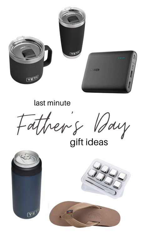 Last minute Father's Day gifts for the mamas on a time crunch! All will arrive before Father's Day!  Gift ideas. Yeti favorites. For the man. For the dad. For the whiskey lover. For the techie. For the beer lover.   #LTKmens #LTKfamily #LTKunder50