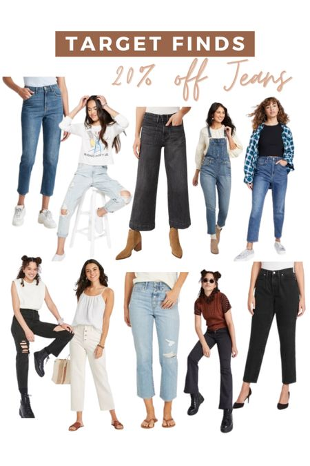 Target finds! All of there women's jeans are 20% off right now   #LTKsalealert #LTKunder50 #LTKstyletip