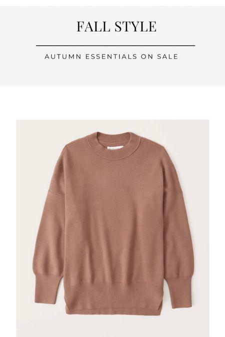 Fall outfits on sale, oversized sweater, neutral sweater, finding beauty mom  #LTKsalealert #LTKunder100