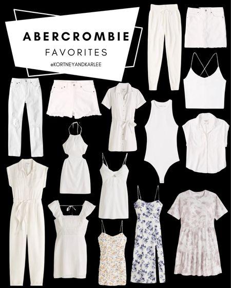 Abercrombie Favorites!!!  Abercrombie summer fashion   Abercrombie Summer favorites   Abercrombie Sale   Abercrombie summer sale   Abercrombie dress   Abercrombie jeans   Abercrombie swimsuit   Abercrombie t-shirt   Abercrombie top   Abercrombie swim   Kortney and Karlee   #kortneyandkarlee #LTKunder50 #LTKunder100 #LTKsalealert #LTKstyletip #LTKSeasonal  @liketoknow.it #liketkit http://liketk.it/3gVM6