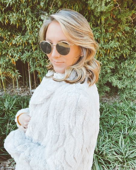 My favorite so faux fur jacket from the Nordstrom anniversary sale coming great Christmas gift http://liketk.it/33iOb #liketkit @liketoknow.it #StayHomeWithLTK #LTKgiftspo #LTKstyletip