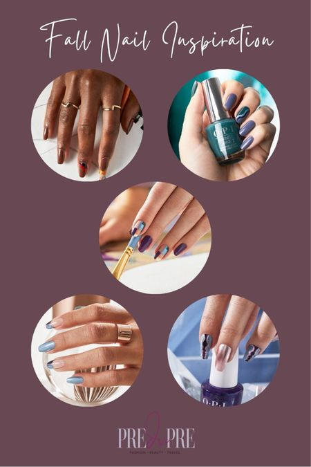 Dress up for the fall season not just with stylish clothing, but with the smallest detail too - your nails. Read more about how to create these gorgeous nails at www.predupre.com  http://liketk.it/3n06y  nail art, nail inspiration, nail inspo, fall inspo, fall style  #LTKSeasonal #LTKbeauty #LTKstyletip